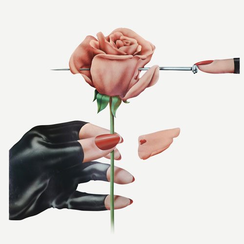 Terry Pastor - Glove & Rose (Scandecor Poster)