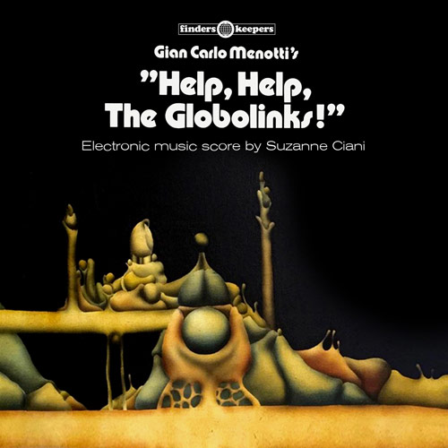 Terry Pastor- Suzanne Ciani - Help, Help, The Globolinks! LP