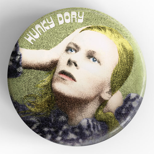 Terry Pastor - Hunky Dory Giant 3D Vintage Pin Badge